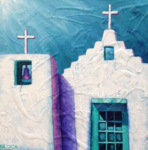 Iglesia Blanca by Bobby Lee Krajnik