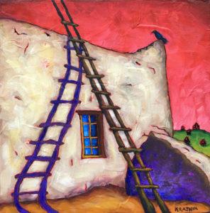 Sombras Purpuras by Bobby Lee Krajnik