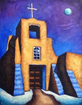 Moonlight on San Miguel