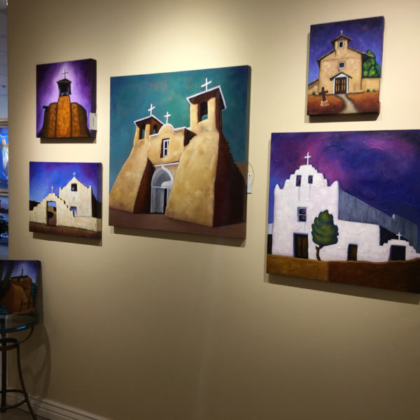 Bobby Lee Krajnik works at Sacred Art Gallery
