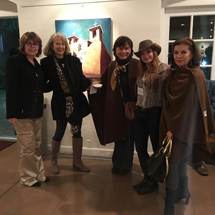 Opening for Bobby Lee Krajnik's solo show - Olney Gallery at Trinity Cathedral